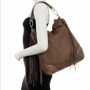 Liebeskind fringe hobo shoulder bag